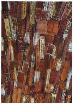 Falling Timber Collage