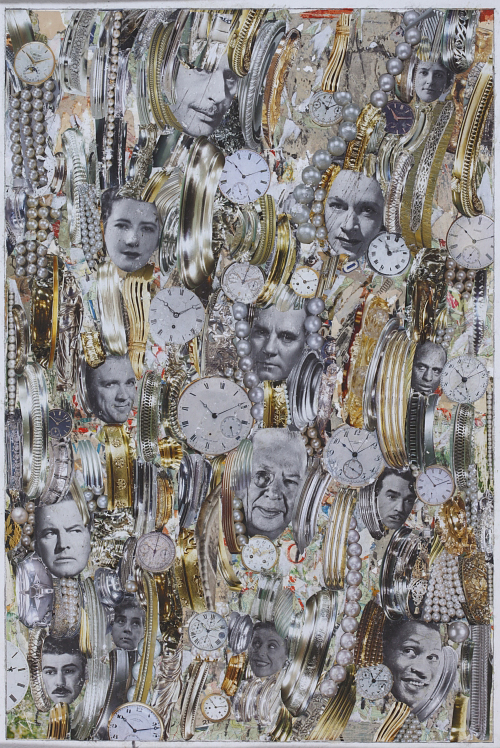 Gold Rush Collage