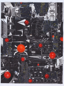 Red Dots Collage